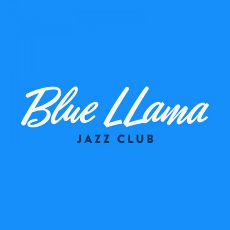 blue llama logo